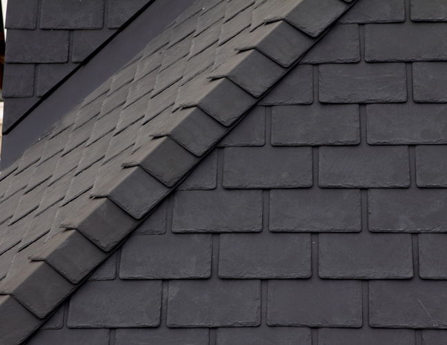 Vision moderne slate vision extrusions vision hollow for Composite roofing tiles